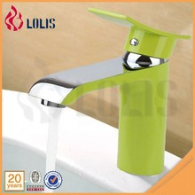 YL80111F Waterfall Basin Round Stand Copper Tap Wholesale