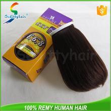 China custom premium now human hair with 12 moths guarantee