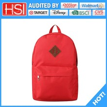 audited factory wholesale price cosy pvc school bag