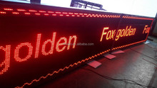 led emergency p10 outdoor red led module