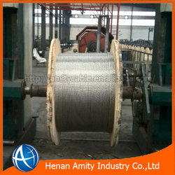 2015 hot sell!! 5mm/7mm galvanised rope wire with best price