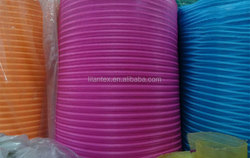 manufacturers direct sales of high-quality beach chair stripes net cloth mesh fabric yarn dyed striped PE mesh