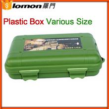 Lomon 132*90*37Mm Waterproof Green Plastic Packaging Box,Plastic Tool Box,Plastic Box For Flashlight