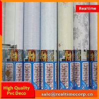 China Manufacturer self adhesive pvc wallpaper