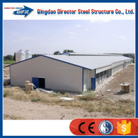 Types of small prefab poultry house