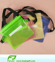 pvc waterproof pouch with waist strap