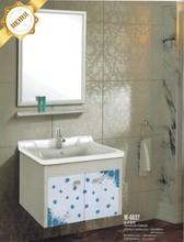 Wall mounted aluminum bathroom cabinet for hot sale M-6637