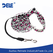 Fashion Retractable Dog Leash with 3m Tape for Dogs up to 15kg