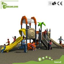 Equipo de parque infantil de exteriores para parques de atracciones con juegos infantiles