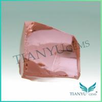 Best price wholesale synthetic nanosital rough morganite pink color