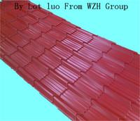 0.2-1.25 mm waterproof building materials roof sheet