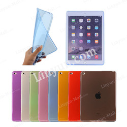 Eco-friendly Transparent TPU soft case for iPad Mini 4, for iPad Mini 4 case cover