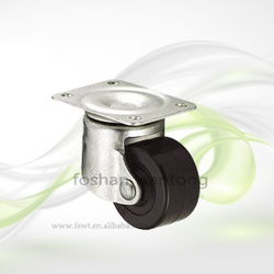 300kg High Load Double Bearing Swivel Nylon Industrial Caster Wheel