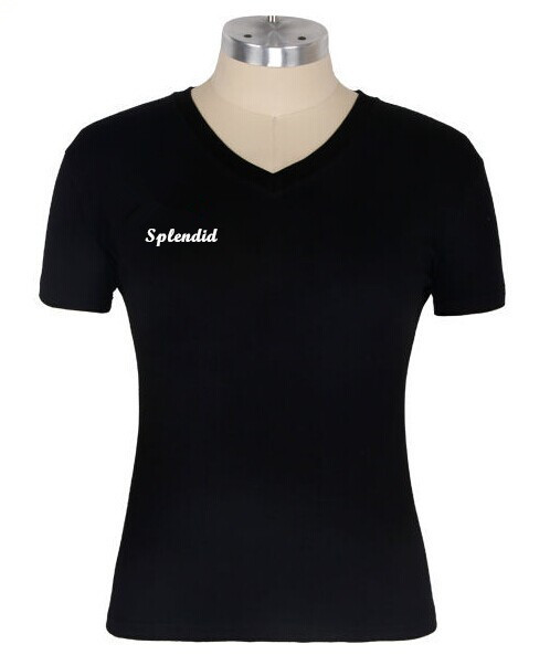Custom womens v neck wholesale t shirt with iron on heat for Where can i order custom t shirts