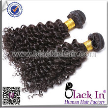 Bleachable And Dyeable 100% human afro kinky braiding hair hot fusion tool hair extensions