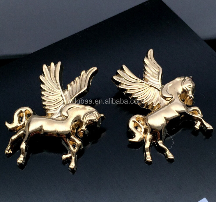2015 New Design Dashion in Europe and America the Unicorn Pegasus Brooch Korea,Vintage Pegasus Horse Unicorn Brooch Jewelry