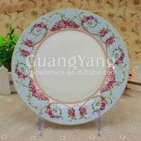 Professional Production Porcelain Ceramic Plate