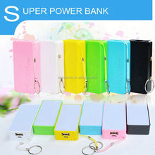 2016 Gift Items 5200mAh Key Chain Smart Perfume Power Bank For Iphones