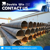 New arrival saw spirally ERW welded line pipes from China