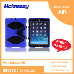 2015 new hot selling products soft silicone cover case for ipad air/ipad 5