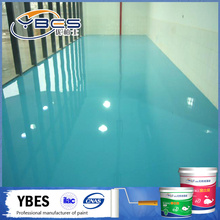 Industry Purpose Epoxy Floor Paint for warehouse metallic pigment hospital parking lot