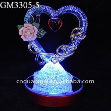 Wedding gift with led light and wedding souvenir