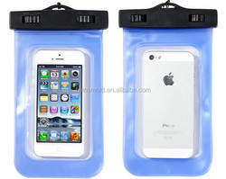 China supplier PVC Waterproof Phone Case Underwater bag For Iphone 5s 5 4 4s 6 4.7INCH