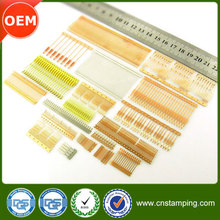 Metal stamping process copper electrical contact
