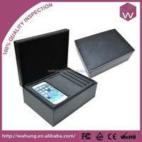 High quality Iphone boxes leather mobile phone unlock box