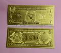 ventas al por mayor de oro de billetes de dólar 1