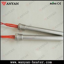 24v 110v 220v Screw Flange Single Head Cartridge Heater with 1m Wire