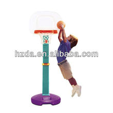 32210 Height adjustable plastic basketball stand for kids