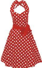 vestidos Rockabilly hippie ropa club polkadot rojo pin-up círculo hippie vintage ropa por mayor ropa Bohemia mujer 1950's