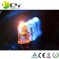 dynamic orange emitting light 8mm 0.75w DIP led DIODES,light emitting diode