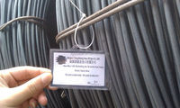 low carbon Q345 7mm steel wire rod for construction