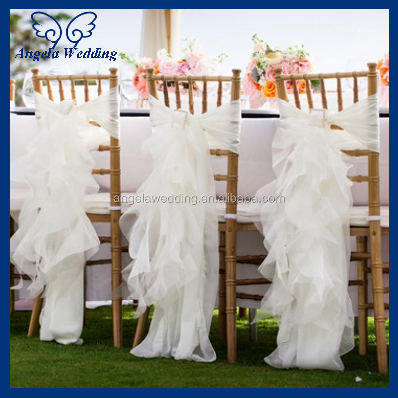 Sh013c Wholesale Popular Wedding Polyester Hessian Real Burlap Chair Sash B