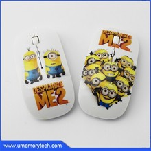 Minion cute wireless mouse best price computer mouse bulk items wholesale