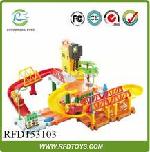Interesting building blocks toys electric train for kids,electric rail car
