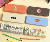 Hero series Pencil case pen boxes receive school office stationery