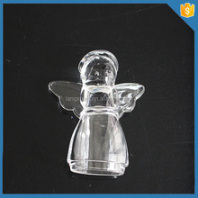 LXHY-MO1331 Christmas Girl Shaped Hand Made Glass Ornaments For Christmas Decoration