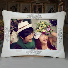 Wedding dress special white nice pictures to paint wall clock photo frame