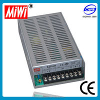 High quality low price CE approved safe standards nice S-201-24 adapter ac/dc 24v 200W 8.3A single output metal case