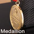 de metal de encargo medallón de recuerdos