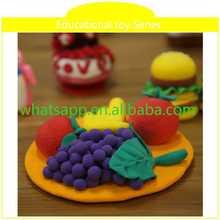 brain training toy clay handprints for children