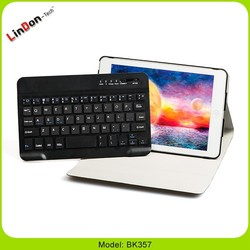 Mini keyboard case for android tabelt, portable keyboard case for windows tablet, keyboard with leather case for ipad mini