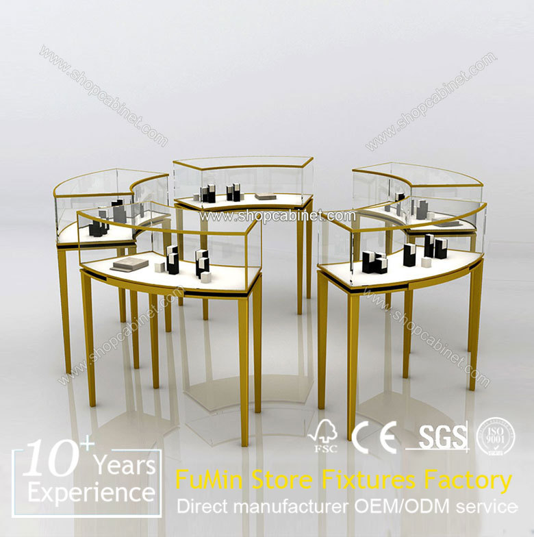 Wholesale modern round jewelry showcase kiosk for store used display furniture from fm store - Wholesale contemporary furniture warehouse ...