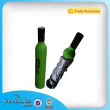 promotion wine bottle shape umbrella bottle cap umbrella