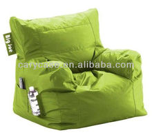 Comfort Research Big Joe Dorm Bean Bag Chair in LIME GREEN,hotsell fashion children love seat. outdoor beanbag sofa