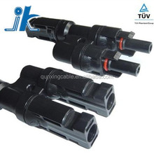 Manufacturer price tuv mc4 t branch connector