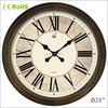 24 inch wooden custom print large wall clock (24W46GL-170)